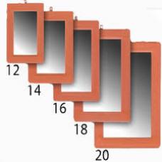 ESPELHO NUMERO 14 16X11cm - 12un