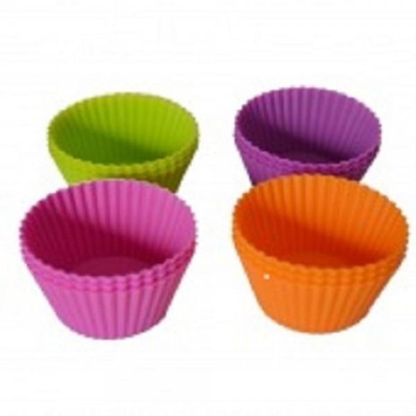 12 Formas cupcake silicone